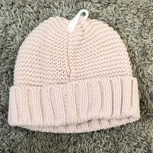 Jessica Simpson NWOT soft pink knit hat